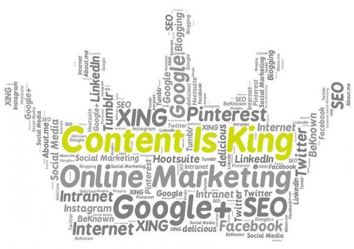 Pozycjonowanie stron - content is king