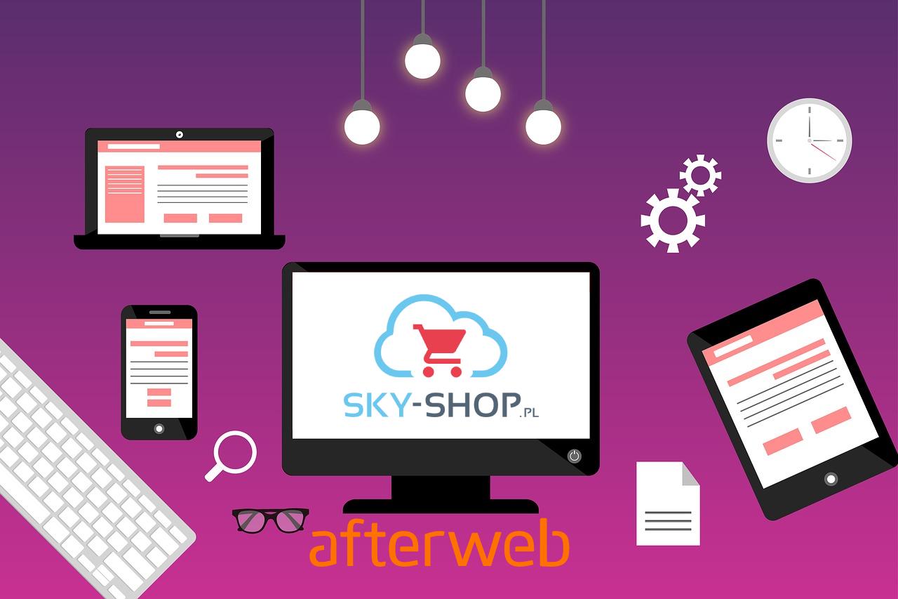 Skuteczne pozycjonowanie sklepu internetowego wymaga przystosowania platformy Sky Shop do wszystkich urządzeń desktopowych i mobilnych