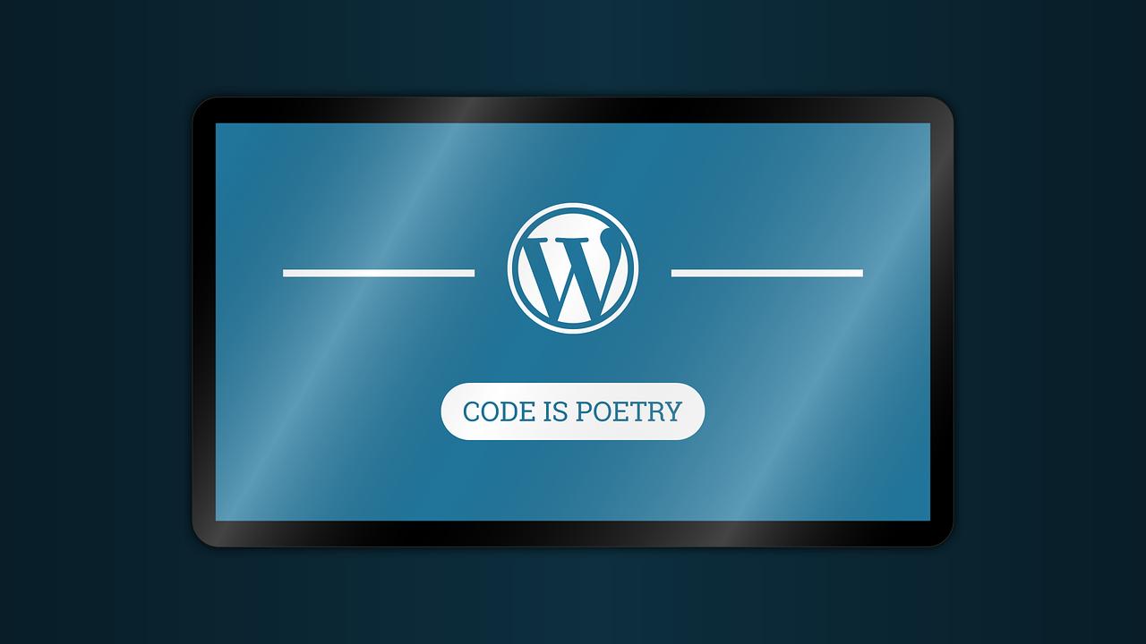 """Mottem CMS-a WordPress jest """"Kod to poezja"""""""