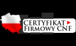 Certyfikat firmowy logo