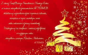 Kartka Wesołych Świąt
